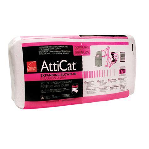 atticat expanding blown  insulation rona