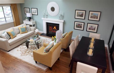 Beautiful Living Room Dining 2 Hgtv Combo Arrange A Best And Paint Colors