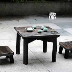 Cheap shipping paulownia wood burning kang kang table for Cheap outdoor coffee table