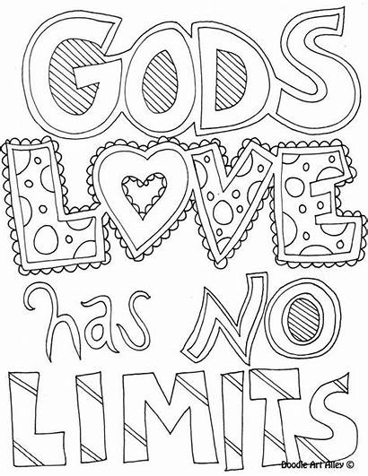 Coloring Pages Quote God Colouring Limits