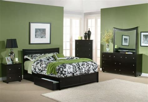 bedroom color dark furniture oh style