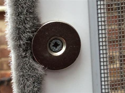 insektenschutz magnet rundmagnet mit bohrung fuer
