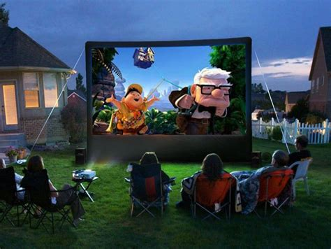 Tips For Using A Projector Outdoors During The Summer Months_