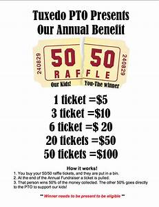 50 50 raffle fundraiser flyer hla pinterest 50th With 50 50 raffle ticket template free