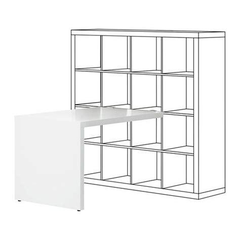 Kallax Ikea Schreibtisch by Kallax Schreibtisch Wei 223 Kallax Desk Desks And Bureaus