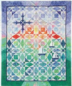 after the storm at sea quilt pattern pieced applique ships With storm at sea quilt template