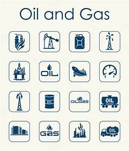 oil and gas simple icons ~ Icons on Creative Market