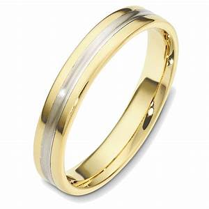 48543 two tone classic wedding ring With two tone wedding ring