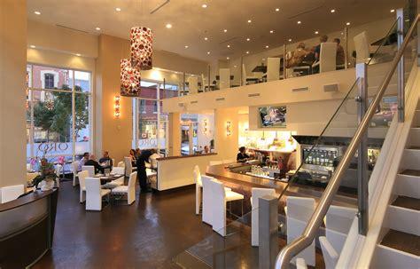oro restaurant lounge architecture interior