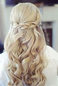 Half up half down, bridal hair, wedding hair, bride ...