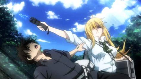 anime btooom kiss 10 animes de accion y romance youtube