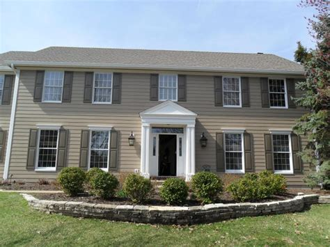 shutter colors for beige house hardie photo gallery the siding company st louis