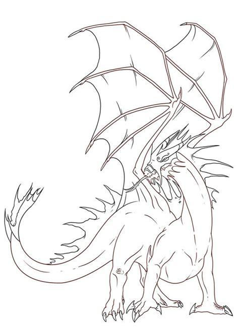 disegni  draghi da colorare pianetabambiniit