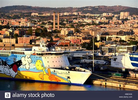 Ferry Boat Usage by Moby Ferry Stock Photos Moby Ferry Stock Images Alamy