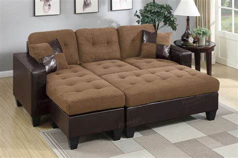 brown sectional with ottoman brown leather sectional sofa and ottoman steal a sofa