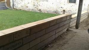 Faire Un Mur De Cloture : comment faire un muret en parpaing ~ Premium-room.com Idées de Décoration