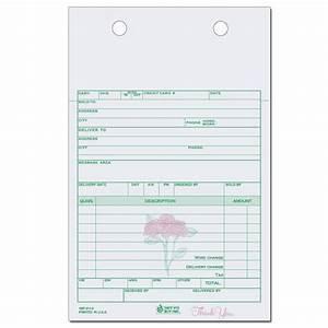 florist invoice template florists flower shop invoices With florist invoice template