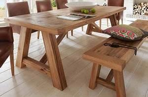 Rustikale Esstische Holz : rustikale k chentische m belideen ~ Michelbontemps.com Haus und Dekorationen