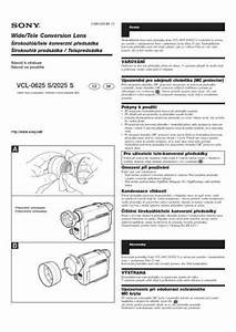 Sony Vcl 2025s Objective Download Manual For Free Now