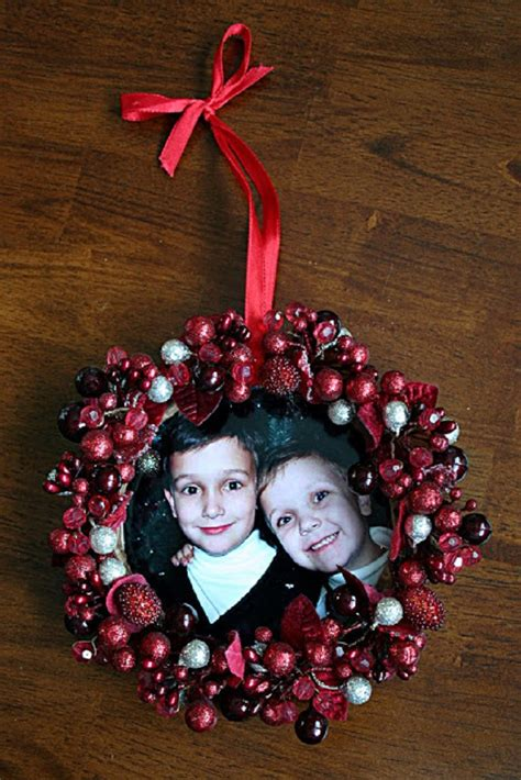 top 10 awesome diy christmas photo ornaments top inspired