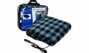 Plaid Electric Blanket For Cars