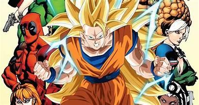 Goku Dragon Ball Marvel Characters Would