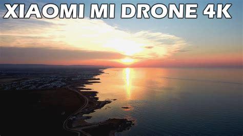 xiaomi mi drone  volo al tramonto  puglia miglior drone del  flight ita youtube
