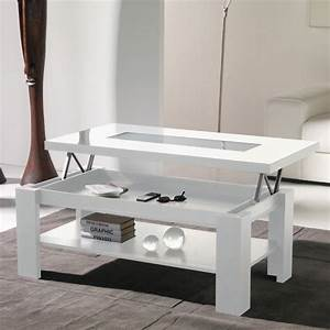 Table Basse Relevable Table Salon