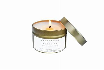 Tin Candle Candles Sunshine Wax Tobacco Patchouli