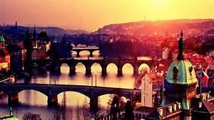 Prague Cityscape - Czech Republic HD Wallpaper Wallpaper