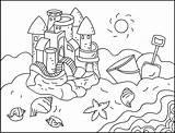 Coloring Nicole Sandcastles Sand Castles sketch template