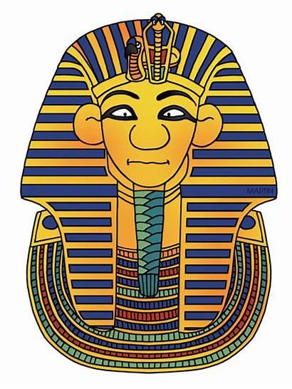 Tut King Clipart Egypt Mask Ancient Egyptians