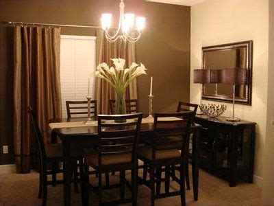 Chocolate brown dining room   Design   Pinterest   Dining