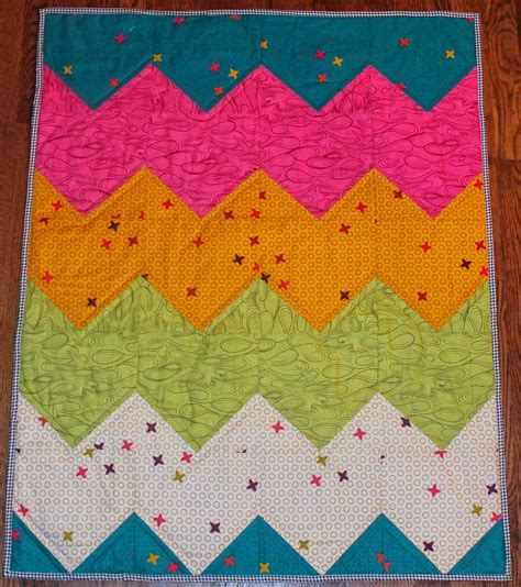 easiest chevron quilt pattern  favequiltscom