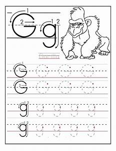 free printable letter tracing worksheets for preschoolers With traceable letters for pre k