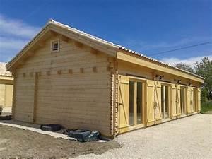 Chalet Bois Kit : chalet habitable en kit de 108m en bois en kit ~ Carolinahurricanesstore.com Idées de Décoration