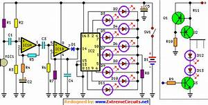 How To Build Dancing Leds Circuit Diagram