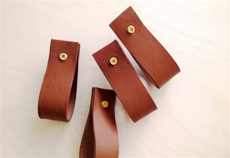 leather drawer pulls brick house