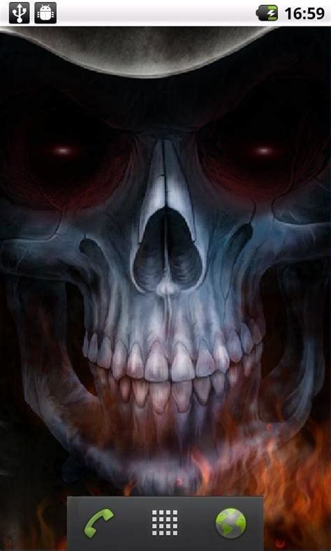 skull  wallpaper  gallery
