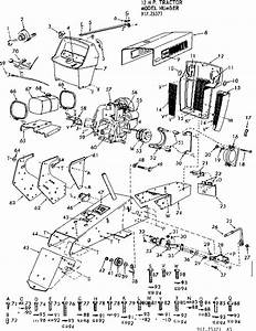 Sears Craftsman Garden Tractor Parts