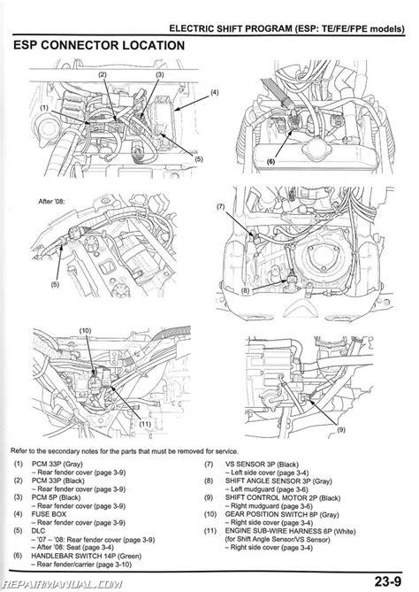 honda foreman 350 wiring diagram 24h schemes