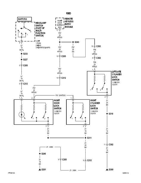 Pt Cruiser Fog Light Wiring Diagram by Repair Guides Power Door Locks Power Door Locks 2