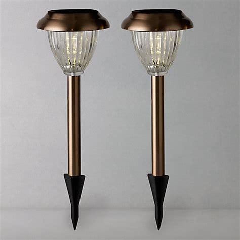 buy lewis bahia solar outdoor led stake lights