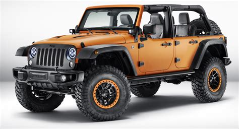 mopar jeep accessories mopar brings three rugged jeep show cars to frankfurt