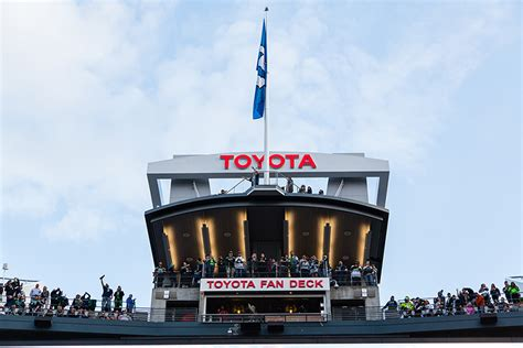 toyota fan deck tickets toyota fan deck seattle seahawks