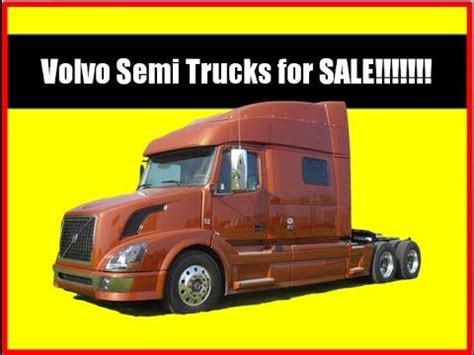 Volvo Truck For Sale By Owner by Used Volvo Trucks For Sale By Owner Volvo Semi Trucks For