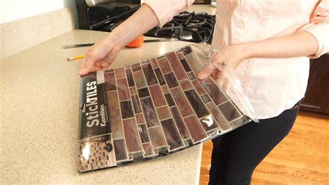 My Diy Peel And Stick Tile Backsplash Installation