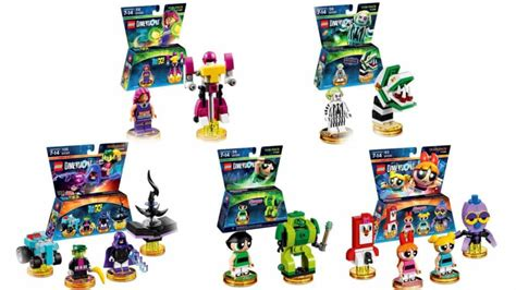 five packs headed to lego dimensions wave 9