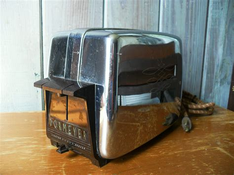 vintage dormeyer electric toaster  brown black
