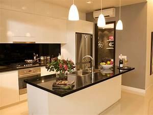 decoration cuisine ilot With modele deco cuisine